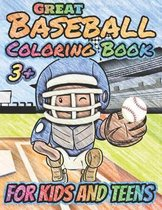 Great Baseball Coloring For Kids and Teens