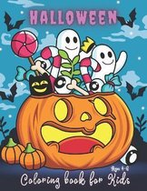 Halloween Coloring Books for Kids Ages 4-6