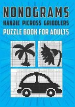Nonograms Hanjie Picross Griddlers Puzzle Book For Adults