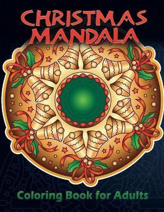 Christmas Mandala Coloring Book for Adults