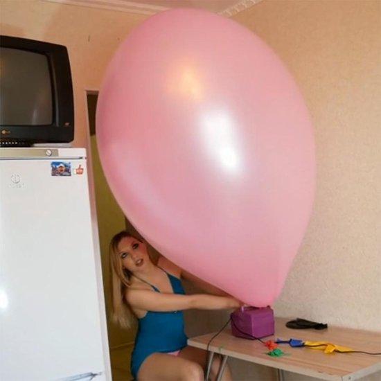 4 stuks Chinese 36 inch reuze ballonnen met mix kleuren - 90 cm - grote ballonnen