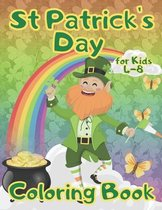 St Patrick's Day Coloring Book for Kids 4-8