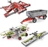 3 Werktuigen en 1 Trailer Technic - Creator Bouwpakket voor Lego® Claas Xerion 5000 VC 42054 - Toy Brick Lighting
