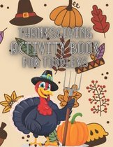 Thanksgiving Activity Book For Toddler