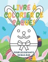 Livre a Colorier De Paques Pour les enfants en bas age