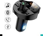 Auto FM Transmitter - Bluetooth - Handsfree bellen - USB - Carkit - Audio receiver - Oplaadfunctie - Auto accessoires