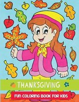 thanksgiving fun coloring book for kids