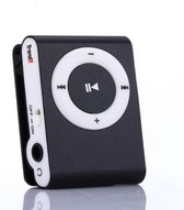 Mini MP3 Speler met Clip - Muziekspeler - Zwart