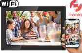 Denver PFF-1017 Black 10.1 - Digitale fotolijst - fotokader - met FRAMEO software 16GB - Glazen touchscreen- Zwart