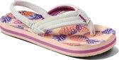 Reef Little Ahi Meisjes Slippers - Coral Pineapples - Maat 19.20