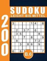 Sudoku Erwachsene Leicht Bis Mittel Band 6