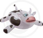 Funshine Crazy Cow Luchtmatras - Luchtbed Hoogte: 79cm  Breedte: 130cm  Diepte: 150cm