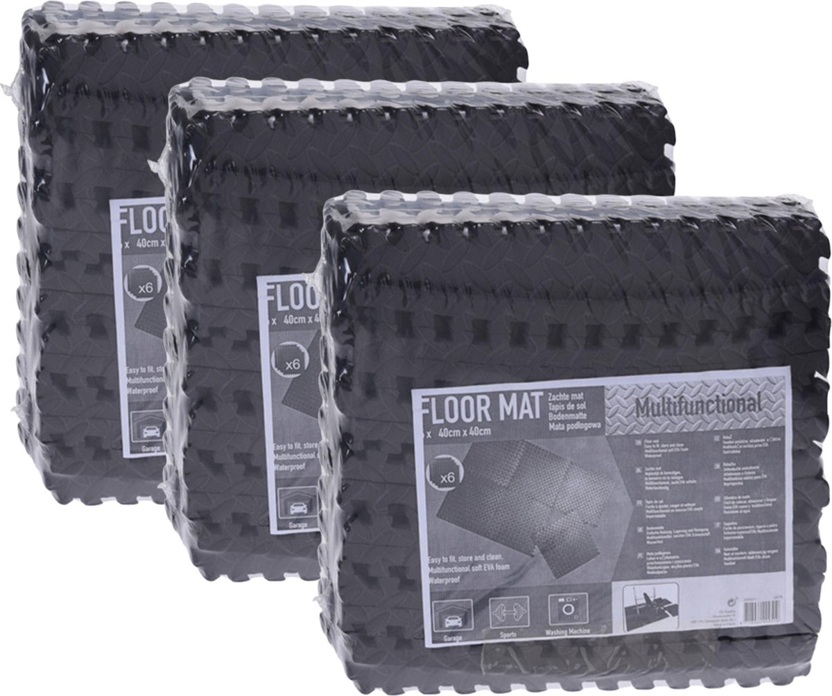 Zwembadtegels - Voordeelverpakking - 3 verpakkingen van 6 tegels - 40x40 cm