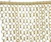 Bamboo deco en vliegen deurgordijn 90 x 200 cm - Anti insecten