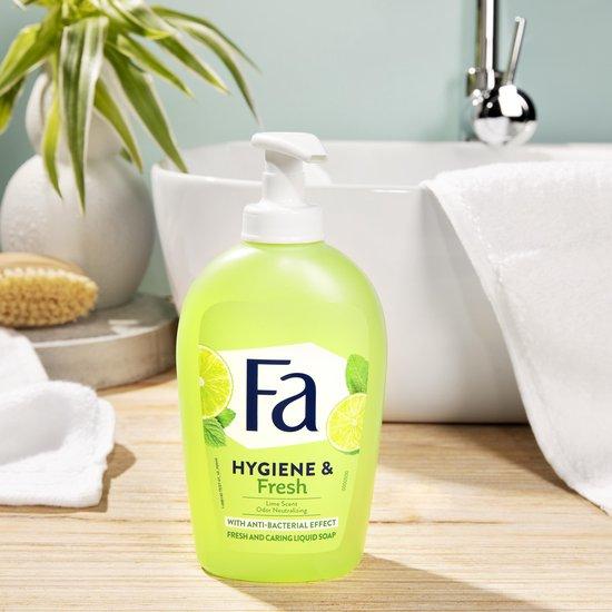 Fa Liquid Soap handzeep Hygiene&Fresh 6x 250ml - Voordeelverpakking