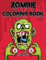 Zombie Coloring Book for Adults