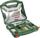 Bosch X-Line borenset - 103-delig - Hout, metaal en steen