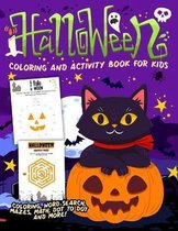 Halloween Coloring and Activity Book