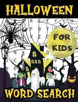 Halloween Word Search For Kids