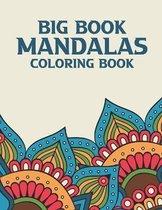 Big Book Mandalas Coloring Book