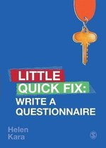 Write a Questionnaire
