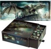 Harry Potter Puzzel - Legpuzzel -  Gringotts Bank Escape - 1.000 stukjes - Bonte Kleuren