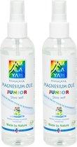 Magnesiumolie JUNIOR van Himalaya Magnesium   Set van 2x 200 ml Magnesium spray   Magnesium olie voor Kinderen
