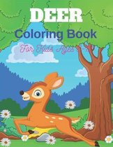 DEER Coloring Book For Kids Ages 8-12