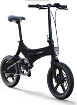 Elektrische fiets - Ebike - electric bike - inklapbaar - Onebot S6  - Elektrische vouwfiets - Zwart - Actieradius 50 KM - Snelheid 25km/h