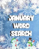 January Word Search
