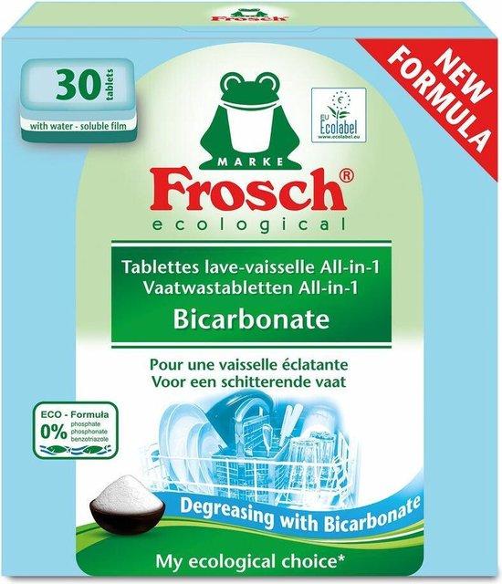 7x Frosch Vaatwastabletten All-in-1 Bicarbonate 30 stuks