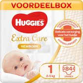 Huggies Newborn luiers - Maat 1 - (2 tot 5 kg) - 84 stuks - Voordeelbox