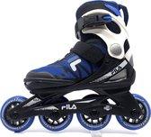 Fila - Verstelbare inline skates - J one - 21' - Maat 32-36 - Blauw - Zwart