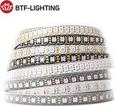 BTF-LIGHTING® - Individueel Adresseerbare LED Strip - WS2812B ECO LED Strip - 2 meter - DC5V - IP30 Non-waterproof - 30 LED per Meter