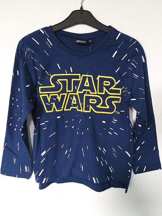 Longsleeve Star Wars – maat 140 – blauw