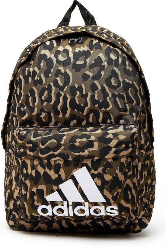 Adidas Badge Of Sport Leopard Rugzak Bruin/Zwart - Maat ONESIZE