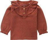 Noppies T-shirt Selma Baby Maat 86 - Henna