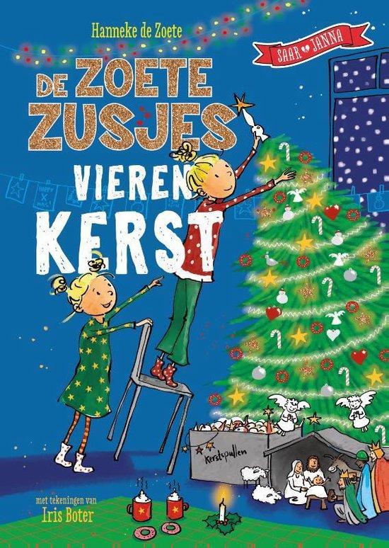 Boek cover De Zoete Zusjes vieren kerst van Hanneke de Zoete (Hardcover)