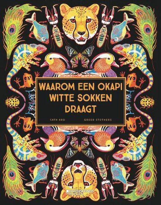 Waarom een okapi witte sokken draagt