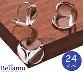 Bellamo®| Hoekbeschermers baby tafel hoeken - kinderbeveiliging - baby veiligheid |24 stuks