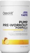 Pre-Workout - Pump Pre Workout 500g OstroVit - Sinaasappel + GRATIS Bulk Shaker 700ml