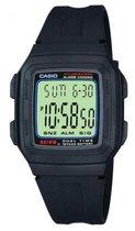 Casio CASIO Collection F-201W-1AEF Horloge - Kunststof - Zwart - Ø 35 mm