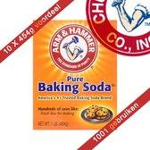Arm & hammer baking soda 454 gram 10 stuks - Voordeelverpakking