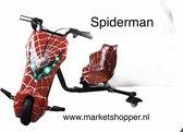 Elektrische drift trike karts met vering en LED verlichting - drie racestanden – SPIDERMAN