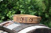 GreenBurry Honden Halsband Leer 60 cm