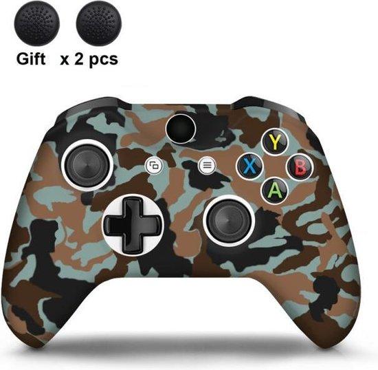 Gadgetpoint   Xbox One   Siliconen Controller Hoesjes   Camo   Bruin