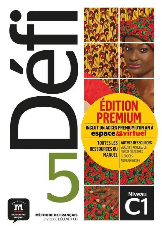 Défi 5 Livre de l'élève + CD version Premium