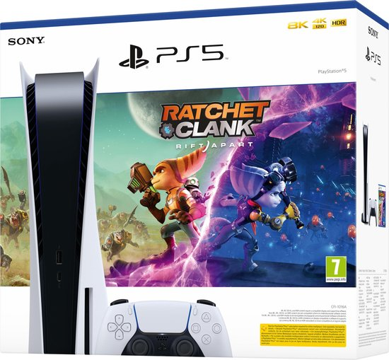 Sony PlayStation 5 Console + Ratchet & Clank: Rift Apart