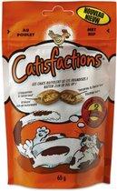 Catisfactions Kattensnoepjes Kip - Kattensnack - 6 x 60g