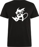 Pokémon T-shirt zwart Raichu maat L